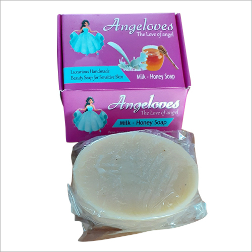 Angeloves Milk And Honey Soap
