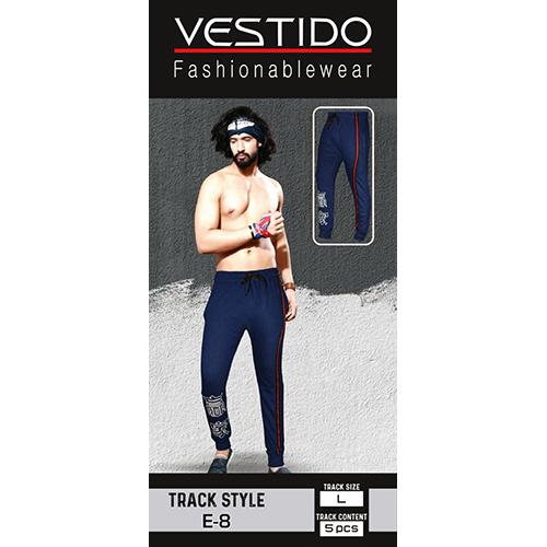 Mens Blue Track Pant