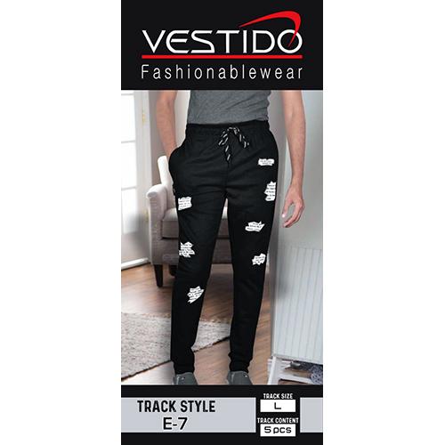 Mens Black Track Pant