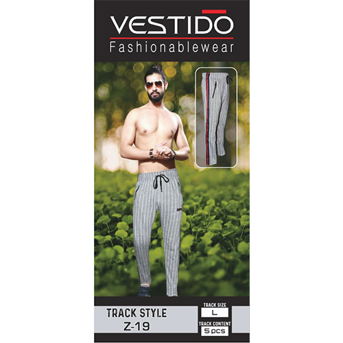 Mens Stripped Track Pant