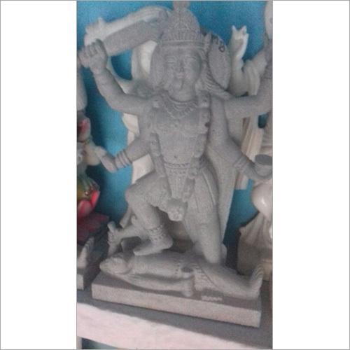 Black Marble Durga Statue