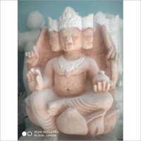 Marble Load Brahma Statue