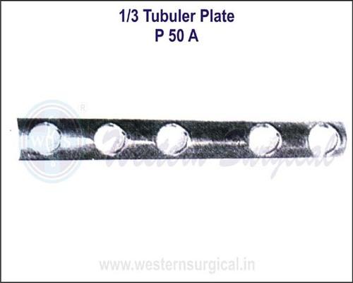 1/3 Tubuler Plate