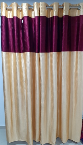 Long Crush Patchwork Curtain