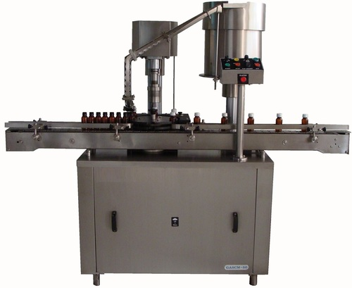 Fully Automatic Screw Cap Sealing Machine
