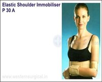 Elastic shoulder immobiliser