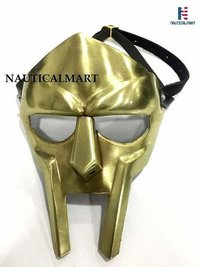 B07HCJZY4W  NauticalMart MF Doom Rapper Madvillain Gladiator Mask (Brass)