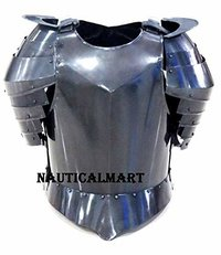 B0728N1V3Q Medieval Times Shoulder Guard Steel Breastplate Gondor Armor Suit