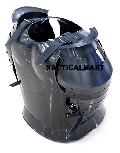 B0728N1V3Q Medieval Times Shoulder Guard Steel Breastplate Gondor Armor Suit