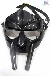 B07HCGVXMZ NauticalMart MF Doom Rapper Madvillain Gladiator Mask (Black Antique)