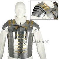 B07FDYDMS3 Nauticalmart Armor Breastplate LARP Lorica Segmentata Segmenta Roman