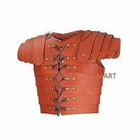 B01GKXX9G2 NauticalMart Medieval Roman Leather Lorica Segmentata Armor