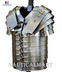 B07FL83YVK NAUTICALMART Armor Full Size Roman Lorica Segmentata Breast Plate Costume