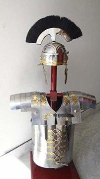 B01EUOY7O6 ROMAN LORICA SEGMENTATA SEGMENTA ARMOUR + ROMAN CENTURION HELMET ARMOUR COSTUME