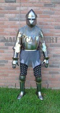 B01LYJJ3RM NauticalMart LARP knight king jousting Suit Of Armor