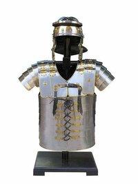 B07F65TVDD NAUTICALMART Armor Breastplate LARP with Helmet Lorica Segmentata Segmenta Roman