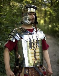 B07FN1TDPG NauticalMart Roman Lorica Segmentata Steel Body Armour For Re-enactment Or LARP