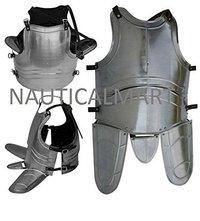 B0728P2VWN NAUTICALMART Knights Jousting Medieval Body Armor Cuirass 18 Gauge - Custom Size