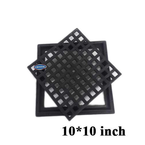 Crystal Plastic Jali Manhole Cover and Frame