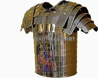 B01HJG8EZA ROMAN ARMOR LORICA SEGMENTATA - BRASS BY NAUTICALMART