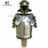 B01J14K9DS NauticalMart Roman Legionaries Armor Lorica Segmentata with Brass Fittings