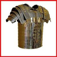 B073YB8ZF5 Roman Lorica Segmentata Armor Brass Trimmed Lorica Segmentata Breastplate Costume