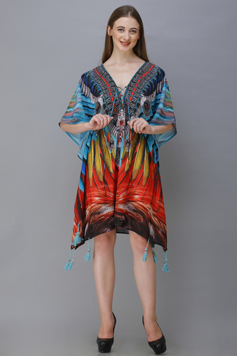 printed ladies kaftan