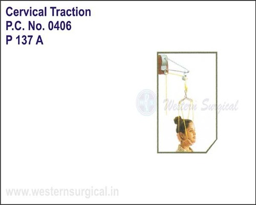 Cervical Traction Kit Without Wts / Sitting