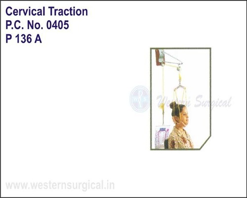 Cervical Traction Kit Wt. Bag / Sitting