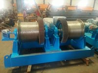 Double Drum Winch Machine
