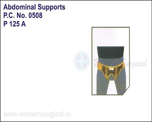 New Male Inguinal Hernia Belt- Double Pad