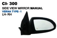 Side View Mirror Manual  Verna Type-1 L/R