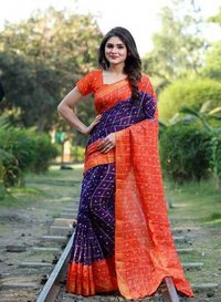 Gharchola cotton saree