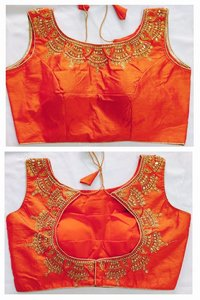 fantam silk readymade blouse