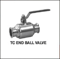 TC End Ball Valve