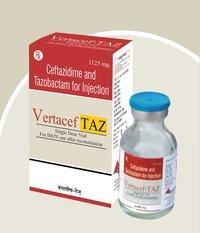 Ceftazidime 1000mg + Tazobactam 125mg Injection