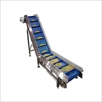 Incline Z belt conveyor