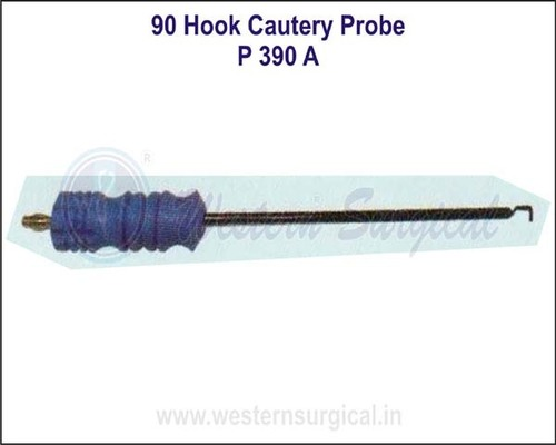 90 Degree Hook Cautery Probe