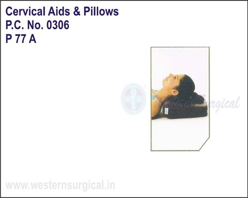 Cervical Pillow Regular Rexine Cover