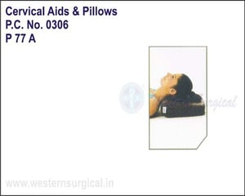 Cervical Pillow Regular Rexine Cover
