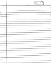 ruled paper