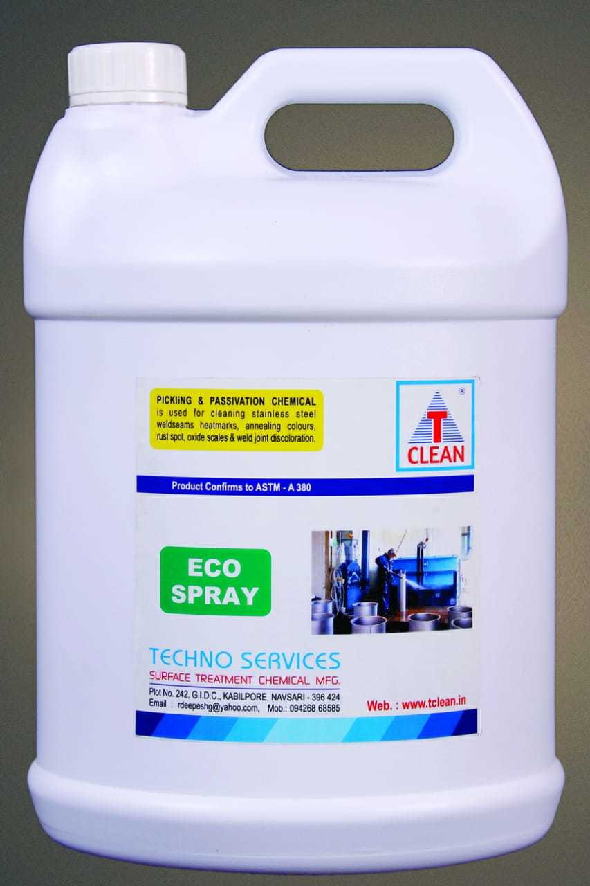 Weld Cleaning pickling Spray