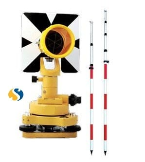 POLES AND REFLECTOR PRISM
