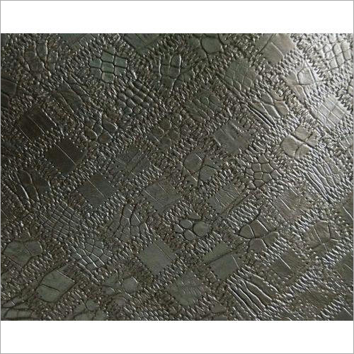 Embossed Leather Bag Fabric