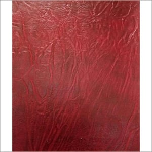 Red Suede Fabric