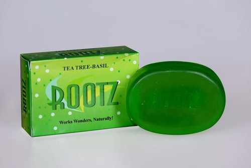 Rootz Tea Tree-Basil Soap