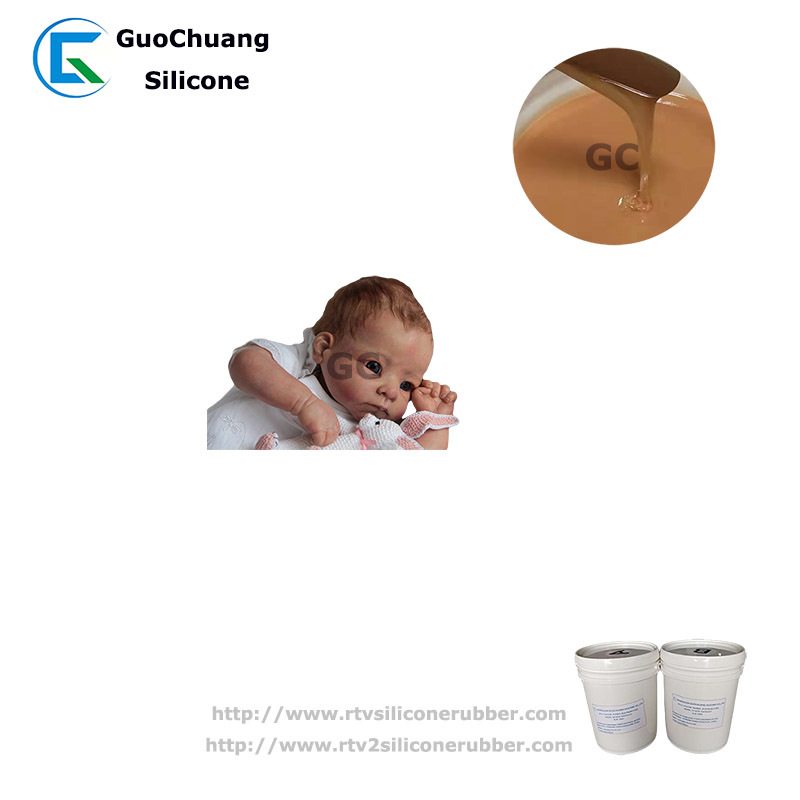High Quality Rtv2 Liquid Silicone Rubber For New Mommy Reborn Baby