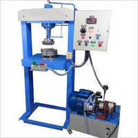 Single Die Hydraulic Paper Plate Making Machine