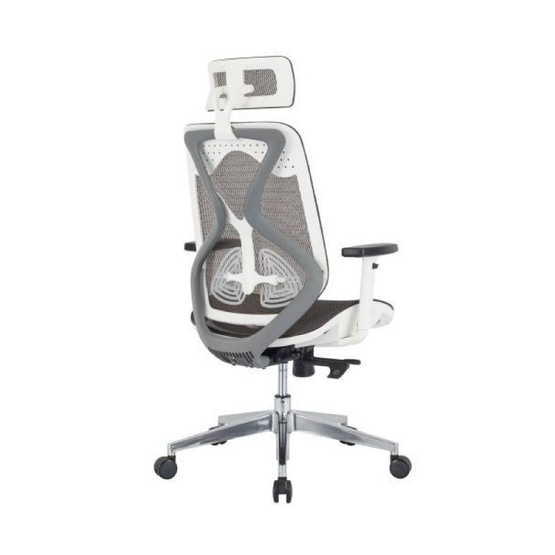 Glider chair with headrest