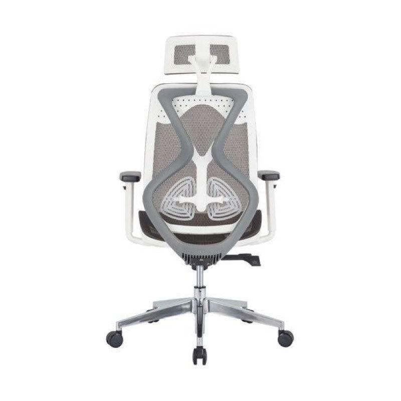 Glider chair with headrest